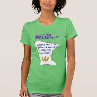 Minnesota State Fair Food Color Ringer Shirt