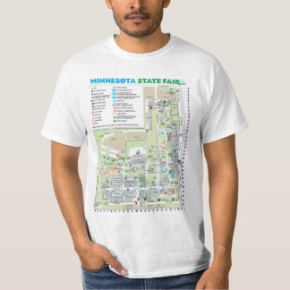 Minnesota State Fairgrounds Map Shirt