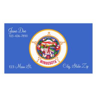 Minnesota State Flag Business Cards