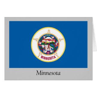 Minnesota State Flag Card