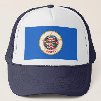 Minnesota State Flag Design Trucker Hat