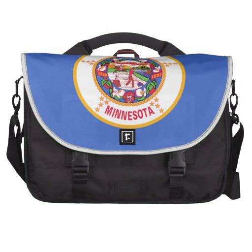 Minnesota State Flag Laptop Commuter Bag