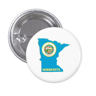 Minnesota State Flag Map Button