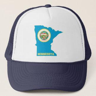 Minnesota State Flag Map Trucker Hat