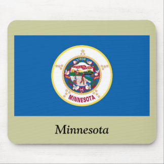 Minnesota State Flag Mouse Pad