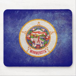Minnesota state flag mouse pad