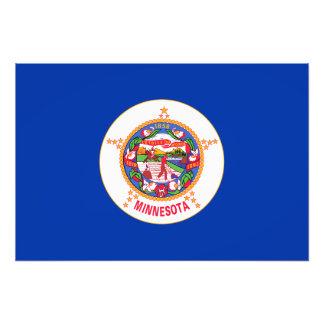 Minnesota State Flag Art Photo