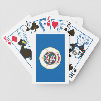 Minnesota State Flag Playing Cards