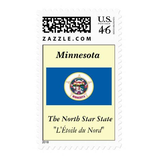 Minnesota State Flag Stamps