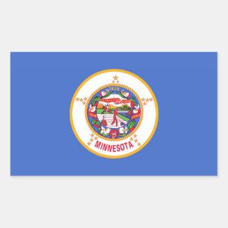 Minnesota State Flag Stickers