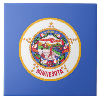 Minnesota State Flag Tile