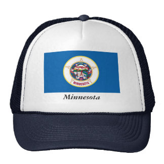 Minnesota State Flag Trucker Hat