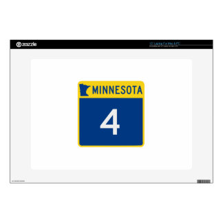 "Minnesota State Highway 4 Skin For 15"" Laptop"