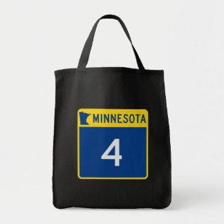 Minnesota State Highway 4 Tote Bag