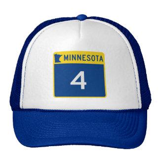 Minnesota State Highway 4 Trucker Hat