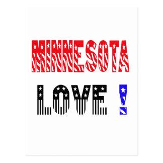 Minnesota State Love !!!! Post Card