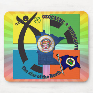 MINNESOTA STATE MOTTO GEOCACHER MOUSE PAD