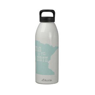 Minnesota State Motto Slogan Drinking Bottle