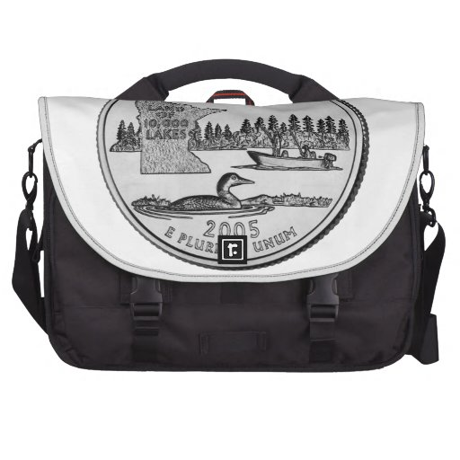 Minnesota State Quarter Computer Bag