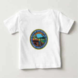Minnesota State Seal Baby T-Shirt