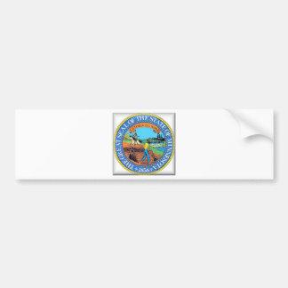 Minnesota State Seal Car Bumper Sticker