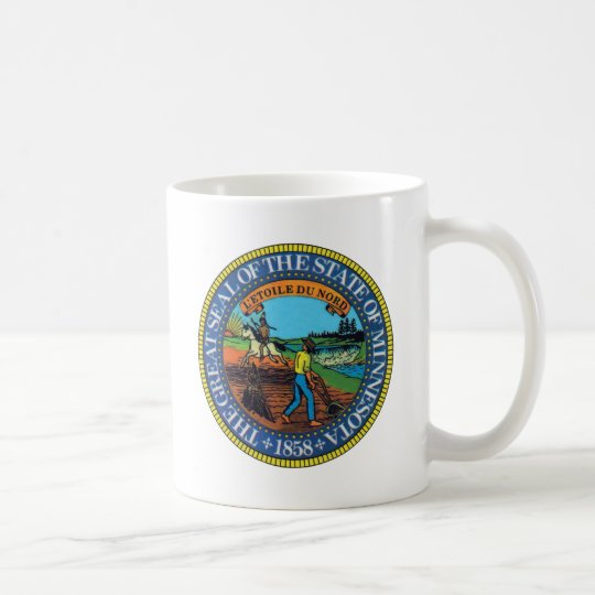 Minnesota State Seal Coffee Mug