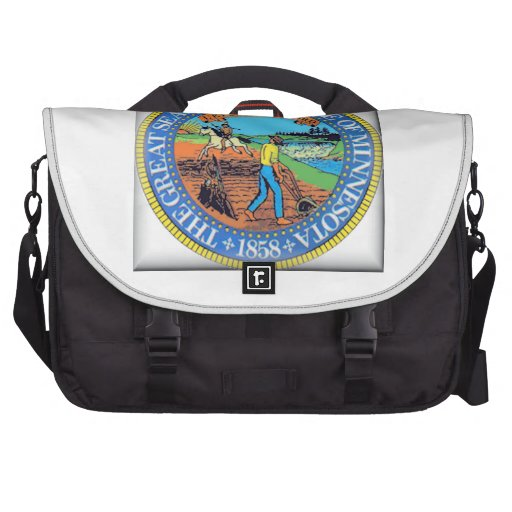 Minnesota State Seal Bag For Laptop