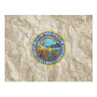 Minnesota State Seal Postcards