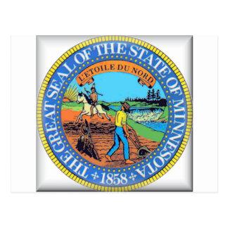 Minnesota State Seal Post Card