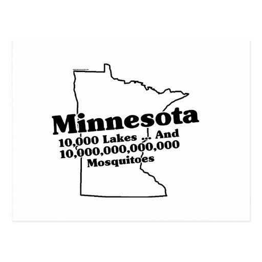 Minnesota State Slogan Postcards