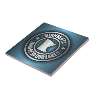 """""""Minnesota Steel 2"""" Ceramic Tile/Trivet Tile"""