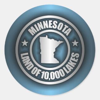 """Minnesota Steel 2"" Stickers"