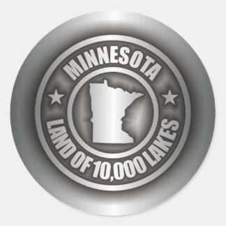 """Minnesota Steel"" Stickers"
