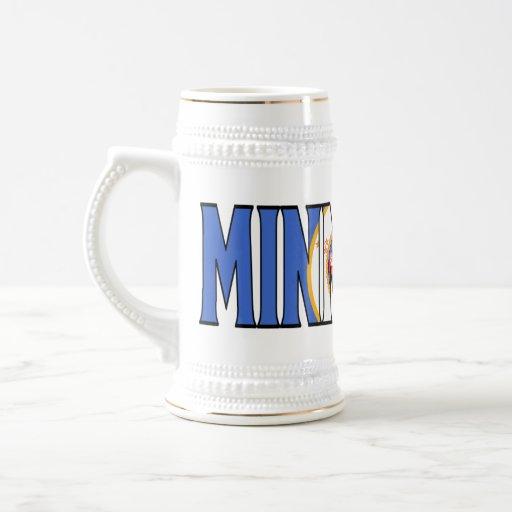 Minnesota Stein Jarra De Cerveza