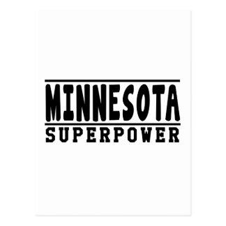 Minnesota Superpower Designs Post Cards