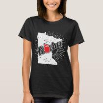 Minnesota Teacher Gift - MN Teaching Home State T-Shirt
