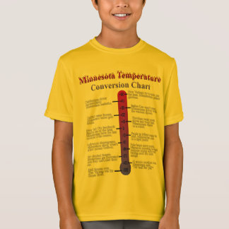 Minnesota Temperature Chart T-Shirt