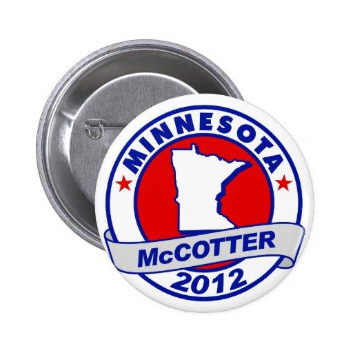Minnesota Thad McCotter Pinback Button