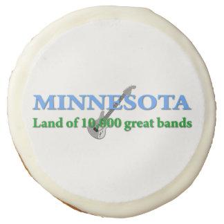 Minnesota Themed Designs Sugar Cookie