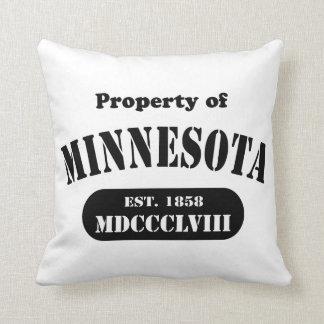 Minnesota Throw Pillow - Customized