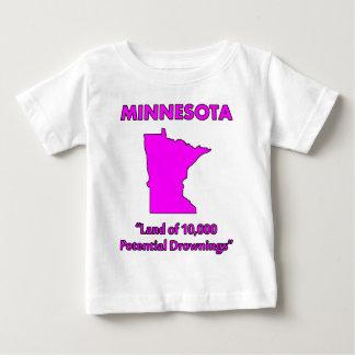 Minnesota - tierra de 10.000 ahogamientos t shirt