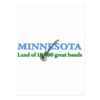 Minnesota - tierra de 10.000 bandas postales