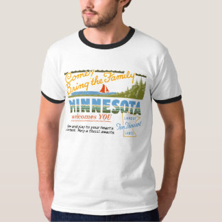 Minnesota - tierra de los lagos ten Thousand Camisas