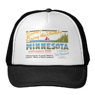 Minnesota - tierra de los lagos ten Thousand Gorro De Camionero