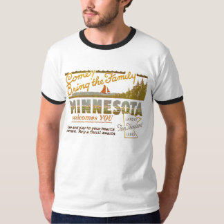 Minnesota - tierra de los lagos ten Thousand Remeras