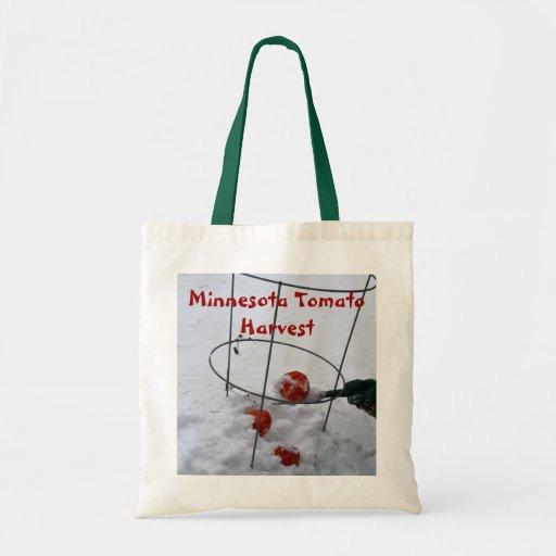 Minnesota Tomato Harvest Budget Tote Bag