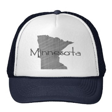 USA Themed Minnesota Trucker Hat