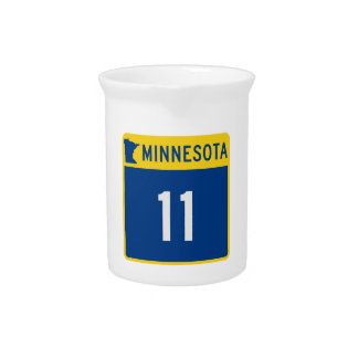 Minnesota Trunk Highway 11 Beverage Pitchers