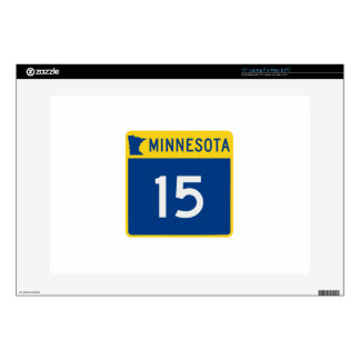 Minnesota Trunk Highway 15 Decal For Laptop