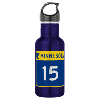 Minnesota Trunk Highway 15 Water Bottle
